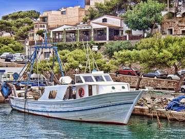 Kuter na Majorce (Hiszpania)