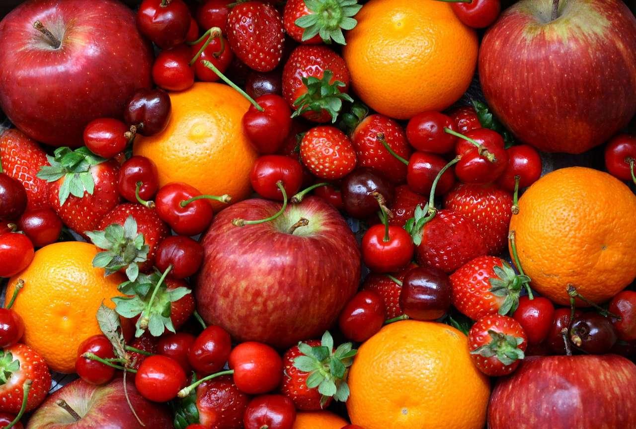 Smaczne owoce - Zdrowe, pełne witamin, a przede wszystkim smaczne owoce (18×12)