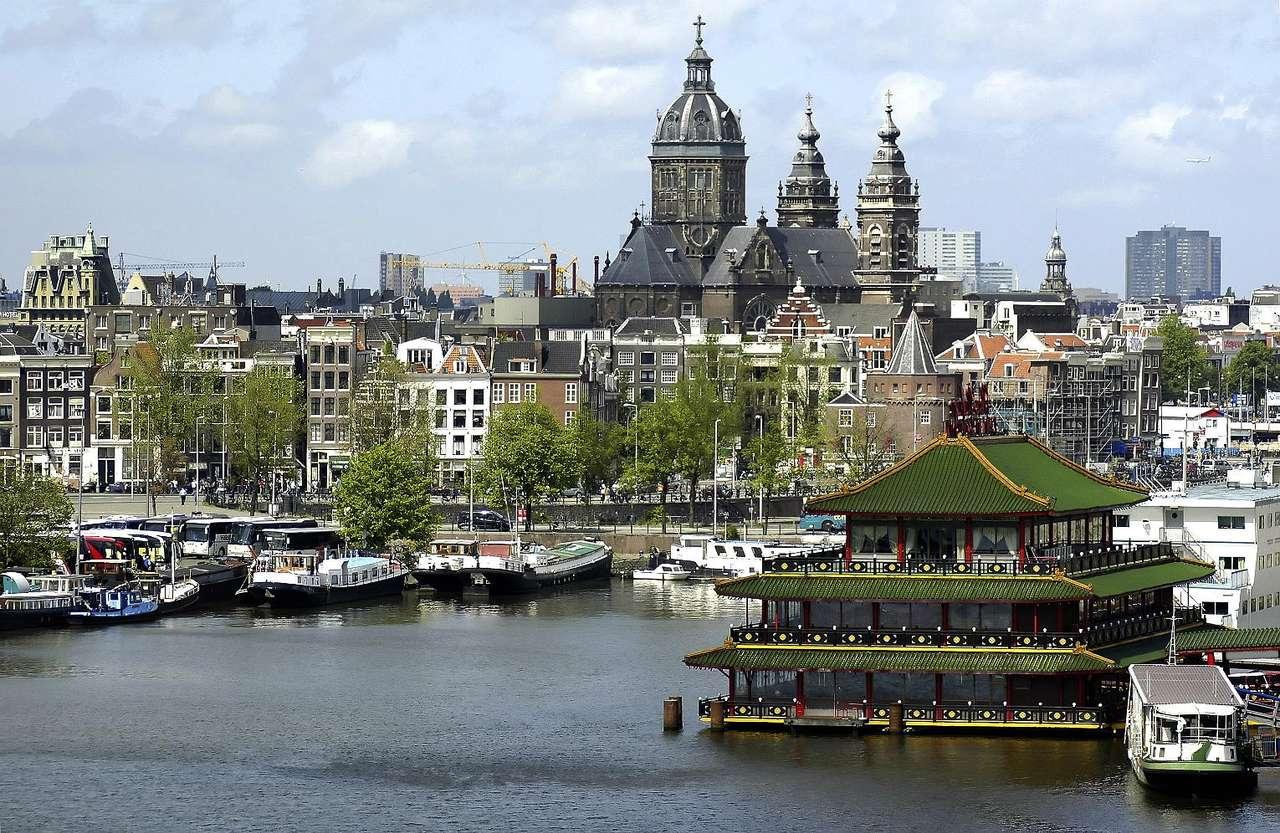 Restauracja na wodzie (Holandia)