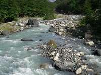 Rzeka w Patagonii (Chile)