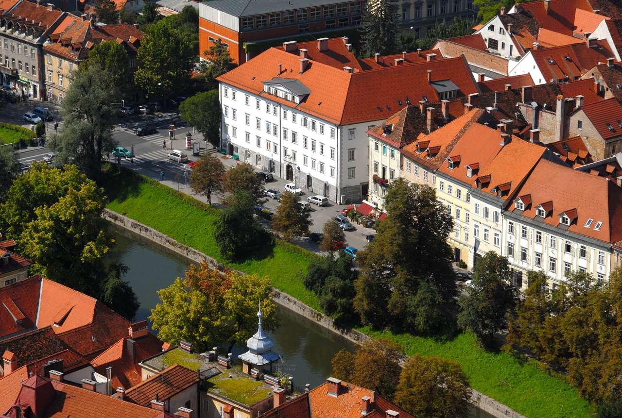 Domy w Lublanie (Słowenia)