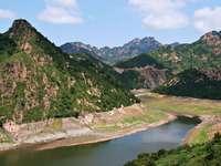 Góry w północnych Chinach