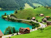 Jezioro Brienz (Szwajcaria) puzzle