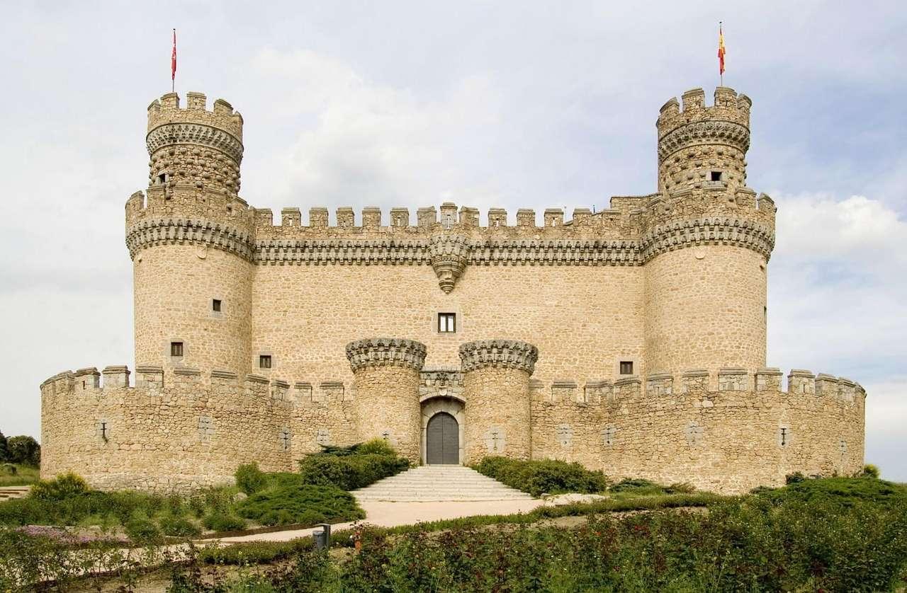 Zamek Manzanares el Real (Hiszpania) puzzle