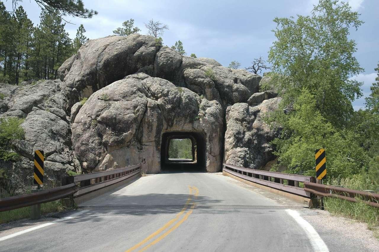 Needles Highway (USA) - Needles Highway to północny, 23-kilometrowy odcinek drogi numer 87 w Południowej Dakocie. Droga prowadzi przez Góry Czarne (Black Hills). Ze względu na wąskie tunele, ostre zakręty i niewielką (12×8)
