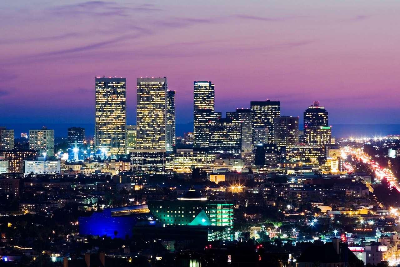 Panorama Los Angeles (USA) -  (9×6)