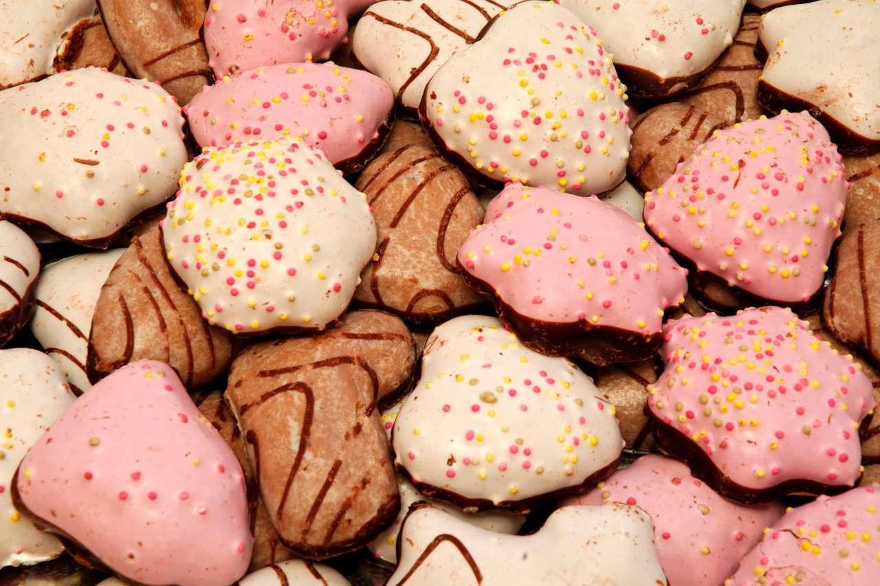 Lukrowane ciasteczka