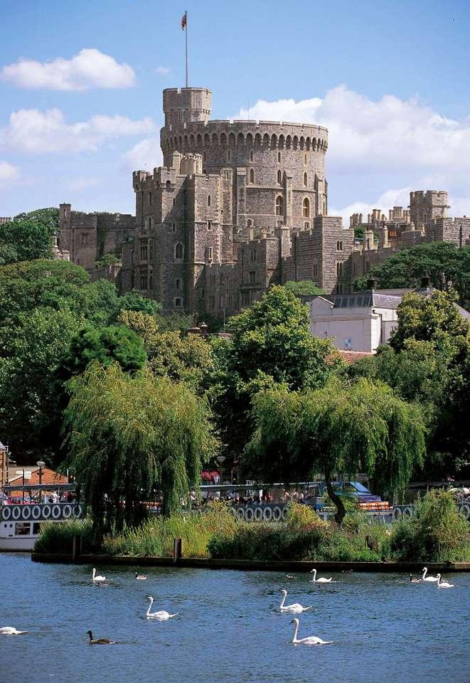 Okrągła Wieża zamku w Windsorze (Wielka Brytania)
