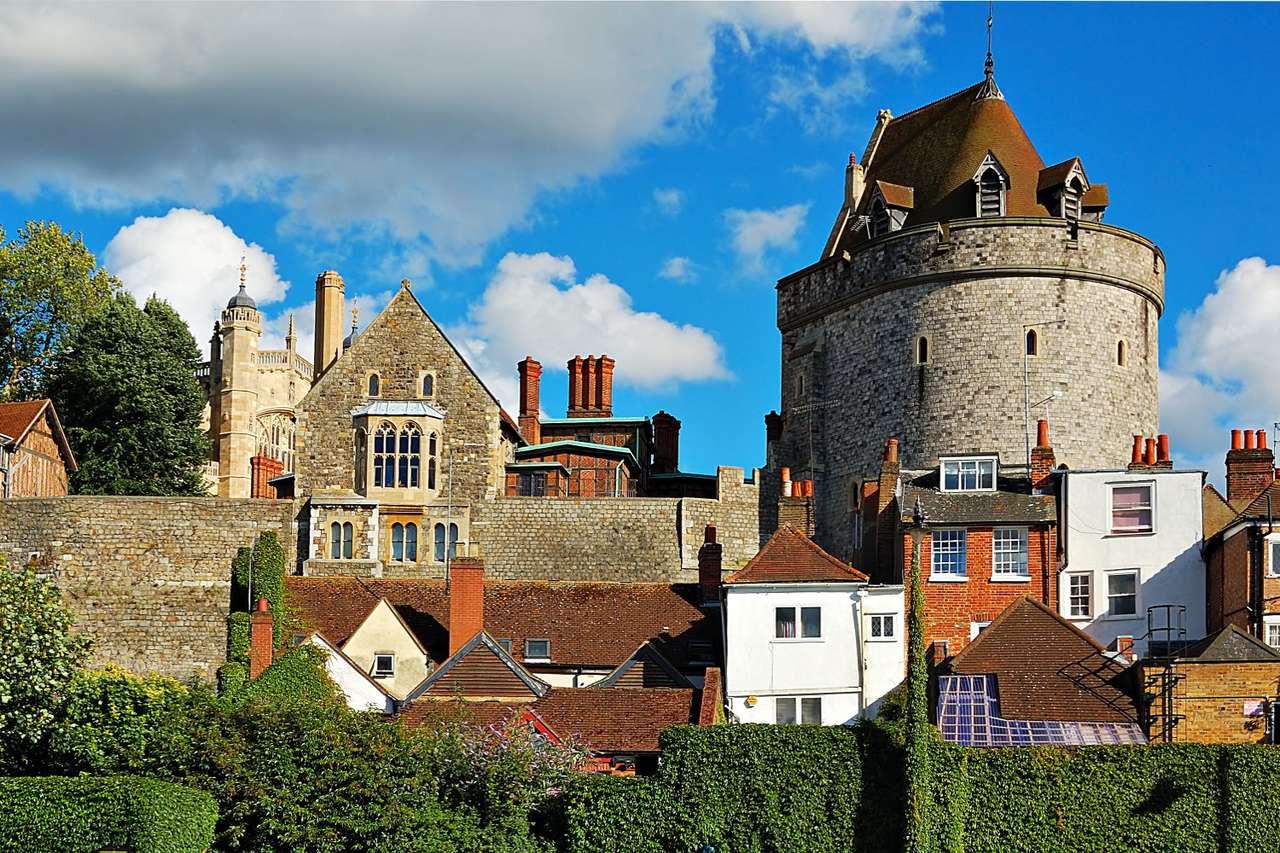 Zamek królewski w Windsorze (Wielka Brytania) puzzle