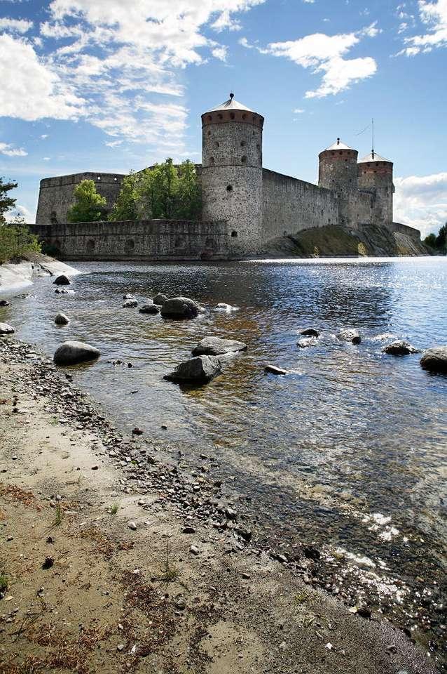 Zamek św. Olafa w Savonlinna (Finlandia)