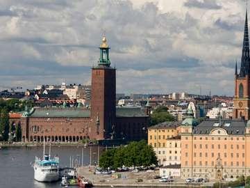 Ratusz w Sztokholmie (Szwecja)