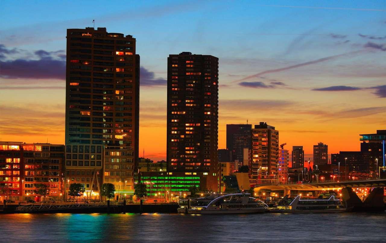 Centrum Rotterdamu (Holandia)