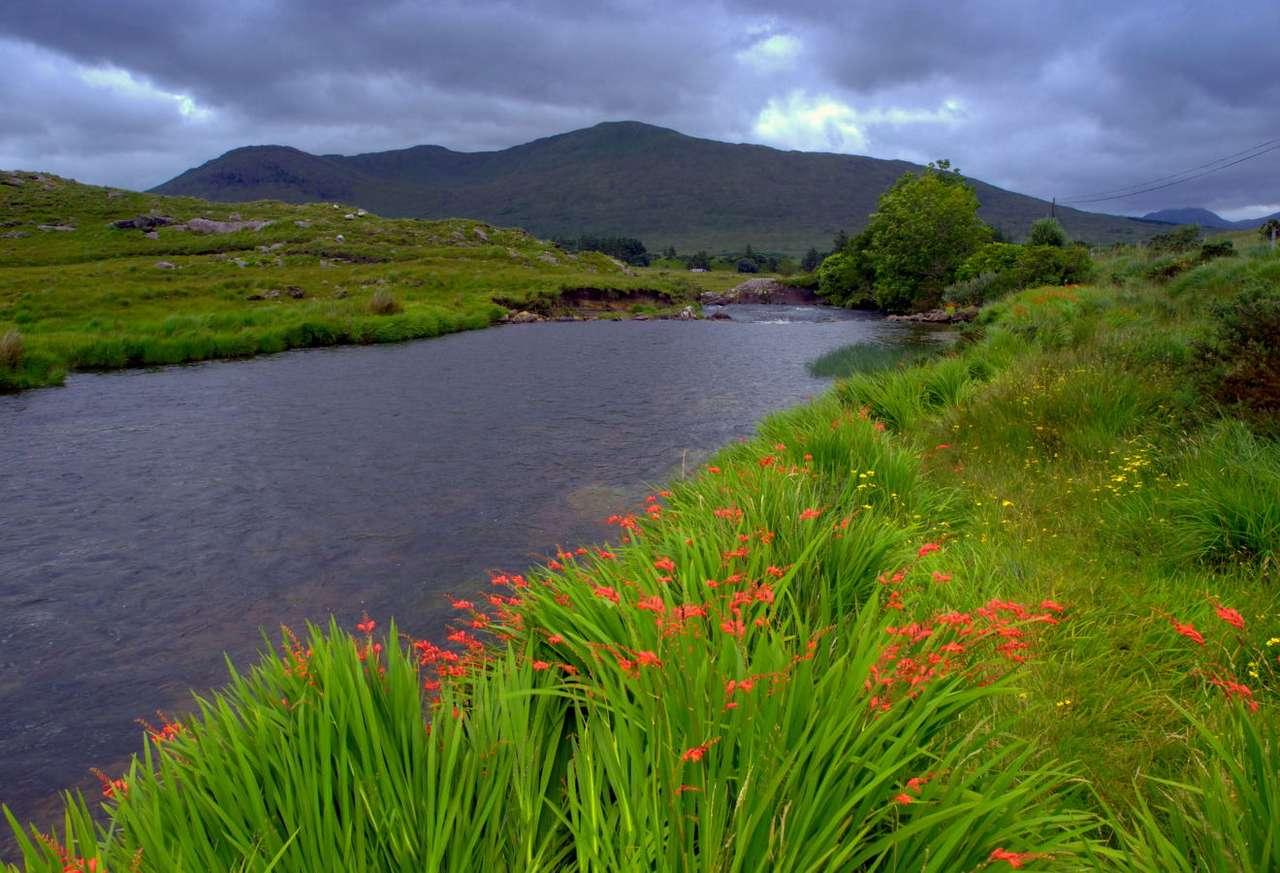 Rzeka Erriff (Irlandia) - Erriff jest jedną z najpiękniejszych rzek w Irlandii. Wypływa ze wzgórz leżących w atrakcyjnej turystycznie części wyspy, zwanej Connemara. Erriff przepływa przez liczne doliny i wzgórza (mi (8×5)