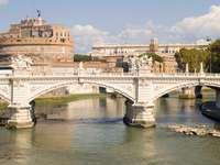 Most i Zamek św. Anioła w Rzymie (Włochy)