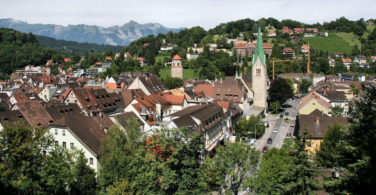 Panorama Feldkirch (Austria)