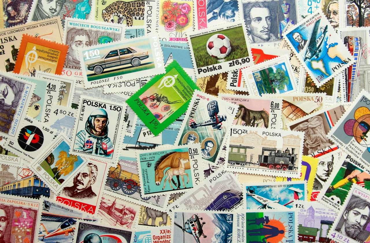 Polskie znaczki - rocznik 1978 - Znaczki pocztowe uwieczniają zwykle bardziej i mniej podniosłe wydarzenia oraz ich rocznice czy sławnych i zasłużonych ludzi. Często tematyka jest bardziej prozaiczna - przyroda, architektura, t (32×21)