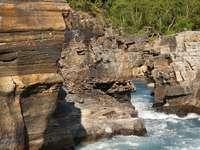 Rzeka w Parku Narodowym Abisko (Szwecja)