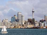 Panorama Auckland (Nowa Zelandia)