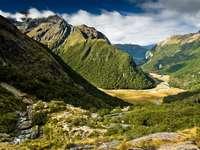 Krajobraz Wyspy Południowej (Nowa Zelandia)