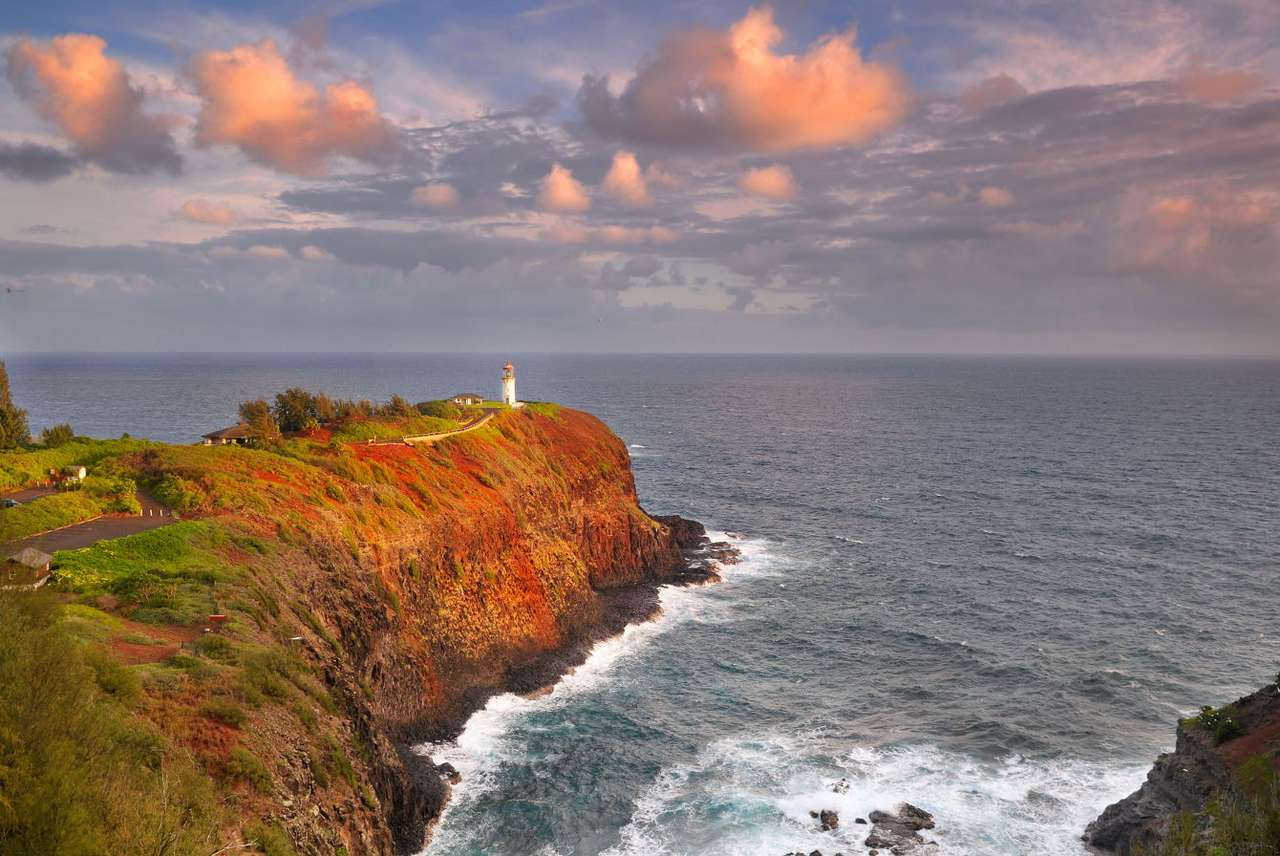 Przylądek na wyspie Kauai (USA) puzzle ze zdjęcia