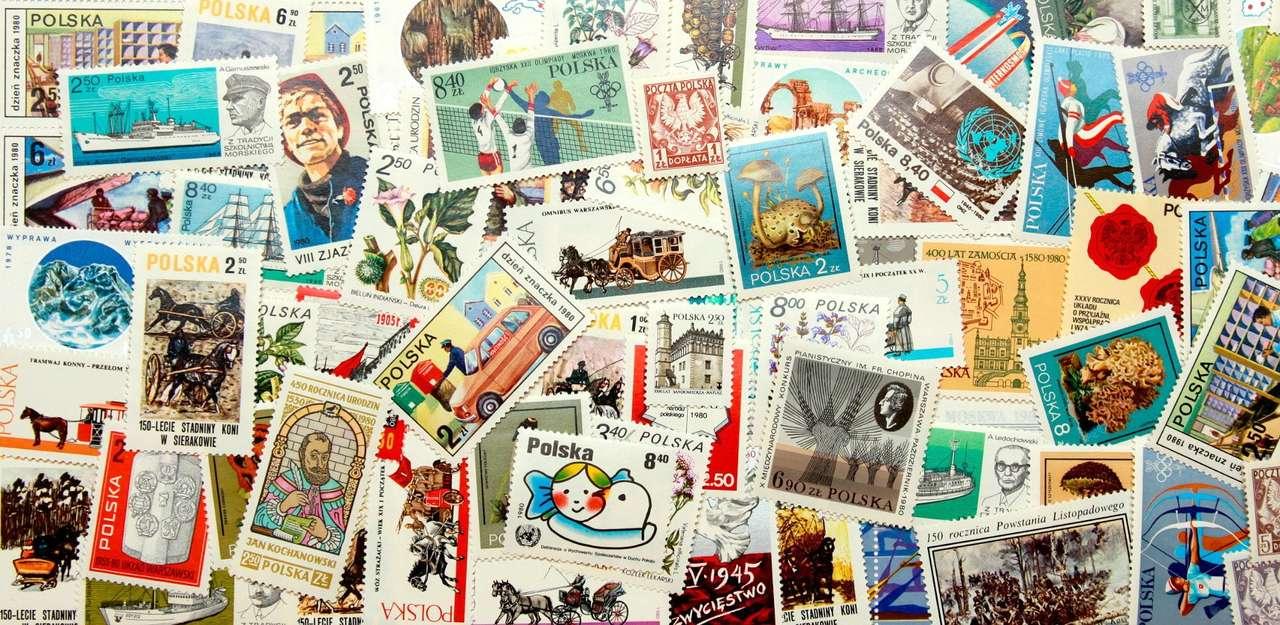 Polskie znaczki - rocznik 1980 - Wśród znaczków pocztowych wydanych w 1980 roku w Polsce odnaleźć można serię upamiętniającą razem Zimowe Igrzyska Olimpijskie w Lake Placid i Olimpiadę w Moskwie. Kilka znaczków poświęco (43×21)