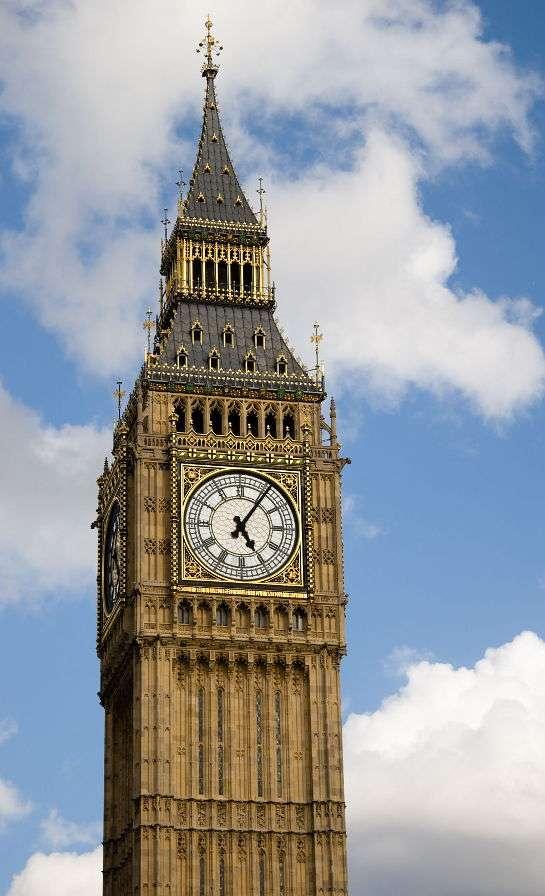 Big Ben w Londynie (Wielka Brytania)
