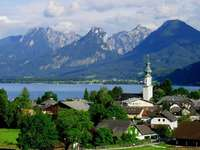 Panorama Sankt Gilgen (Austria)