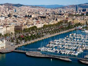 Panorama Barcelony (Hiszpania)