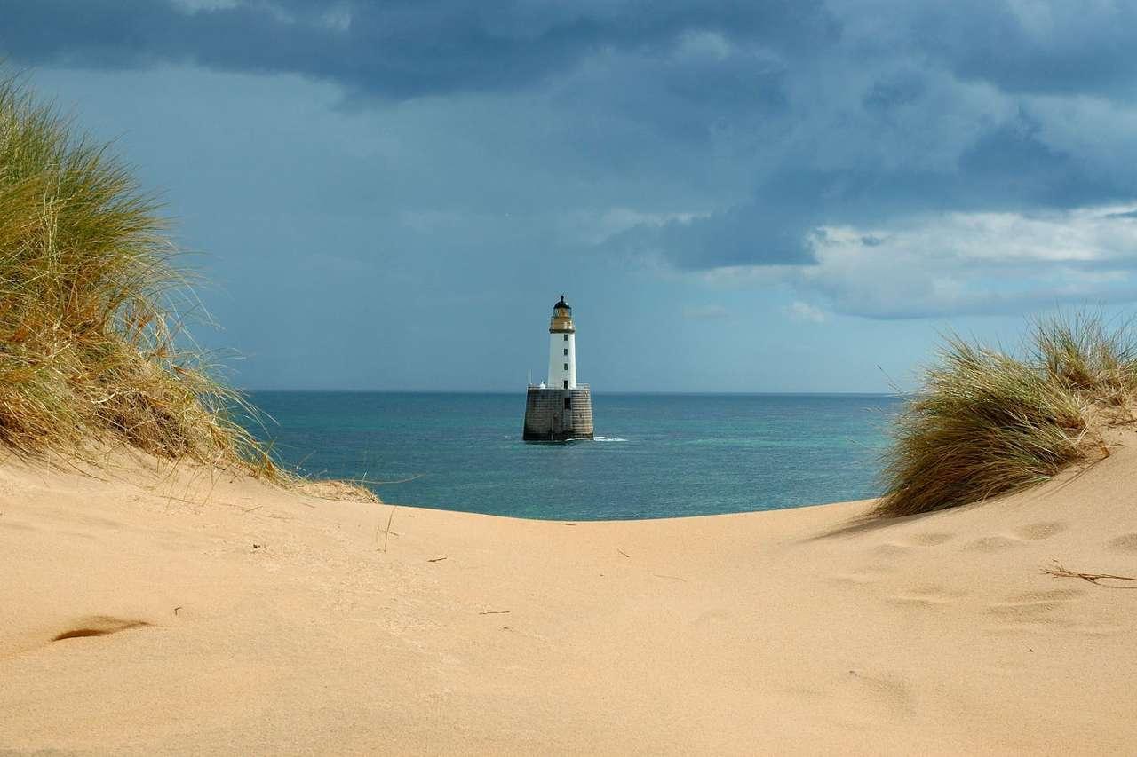 Latarnia morska w Rattray Head (Wielka Brytania)