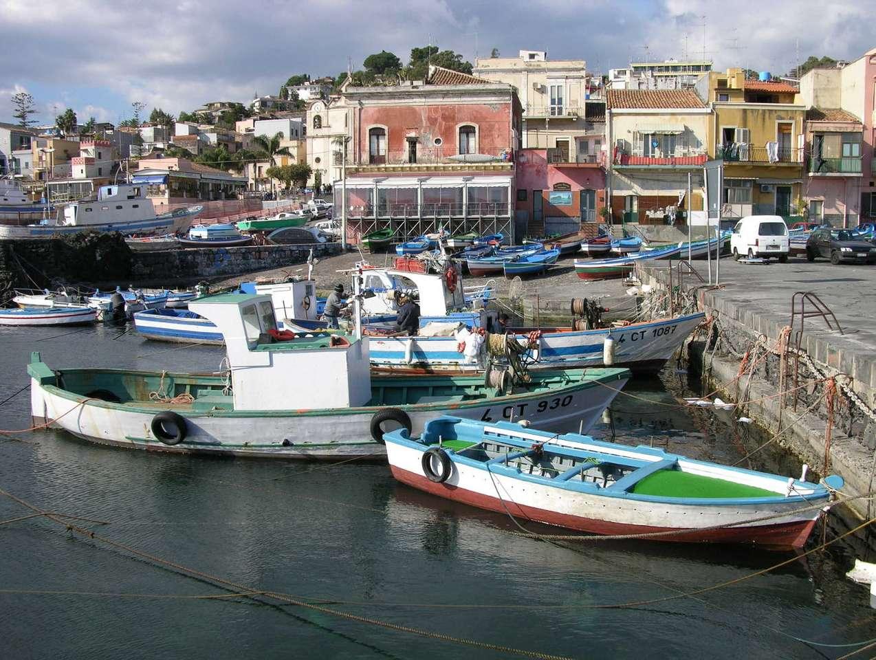 Nabrzeże Sycylii (Włochy)