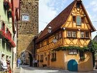 Centrum Rothenburg ob der Tauber (Niemcy)