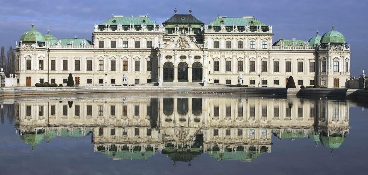 Belweder w Wiedniu (Austria) - Belweder to znajdujący się w stolicy Austrii barokowy pałac wybudowany na zlecenie księcia Eugeniusza Sabaudzkiego. Pałac składa się z dwóch budynków rozdzielonych ogrodem. W połowie XVIII w (15×7)