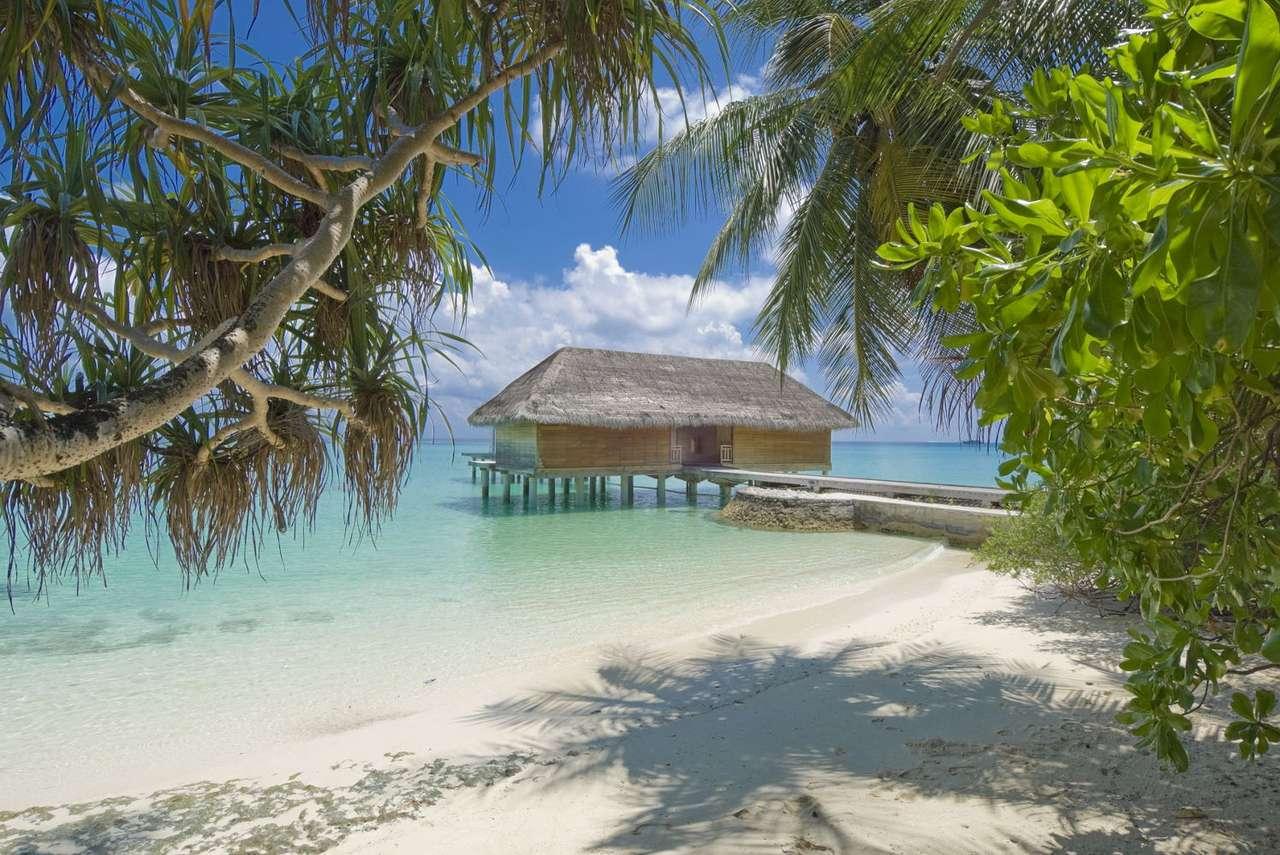 Domek na wodzie (Malediwy) -  (13×9)