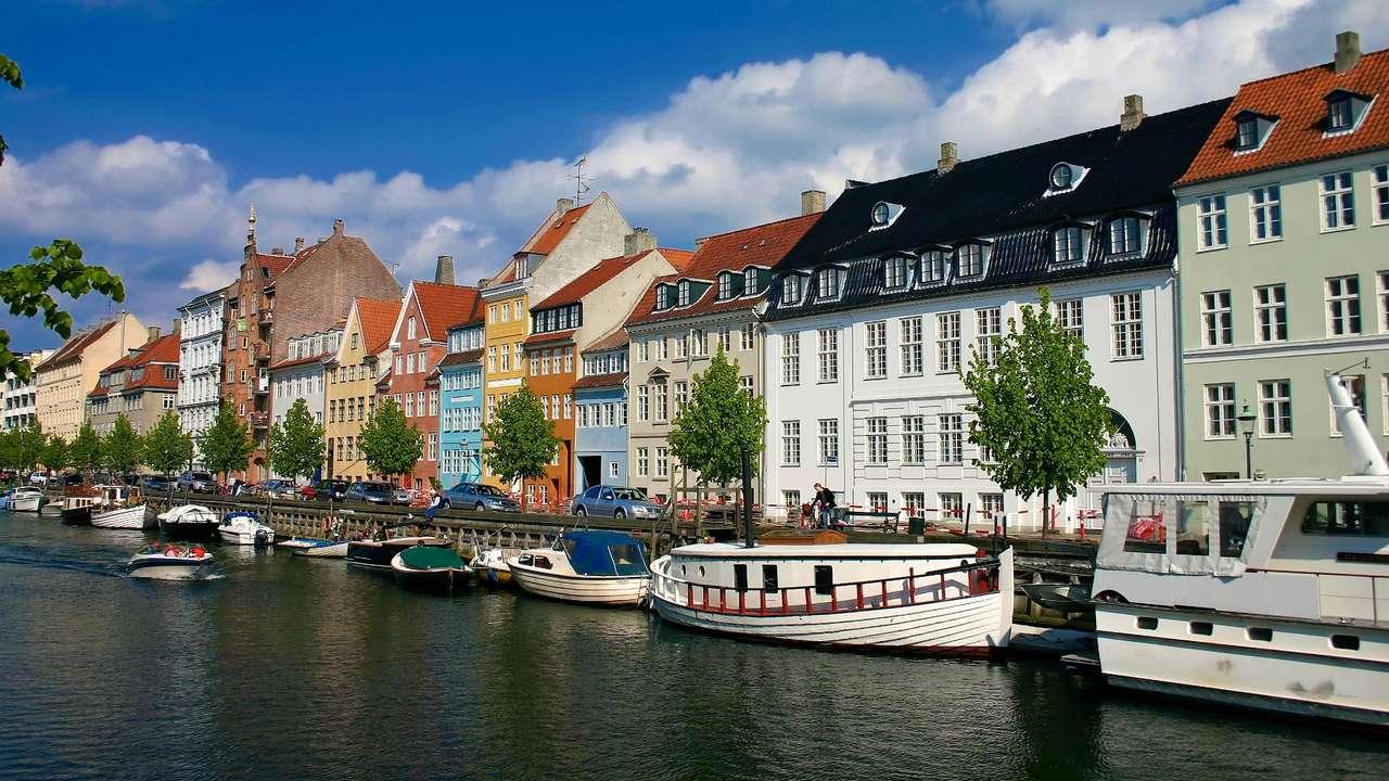 Panorama Kopenhagi (Dania) -  (14×4)