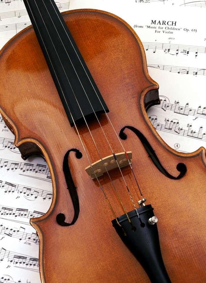 Skrzypce - Skrzypce to strunowy instrument muzyczny należący do grupy smyczkowych. Pudło skrzypiec to dwie lekko wypukłe, połączone ze sobą płyty. Wierzchnia część tworzona jest z drewna świerkowego, (7×9)