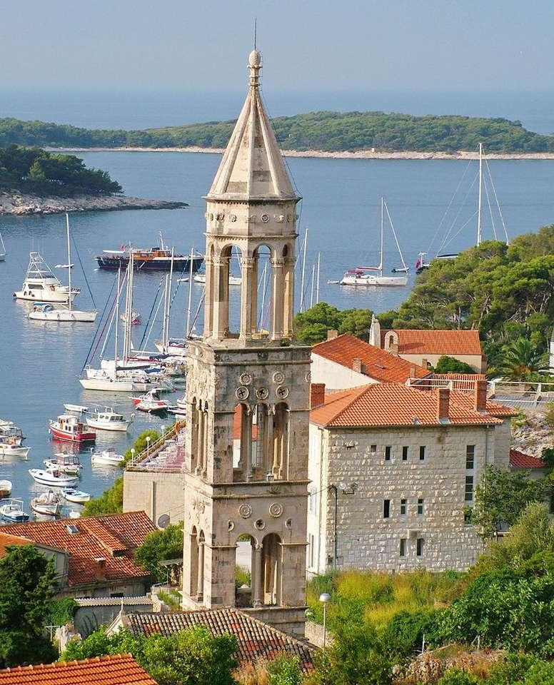 Wyspa Hvar (Chorwacja) puzzle online