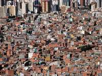 Widok na La Paz (Boliwia)