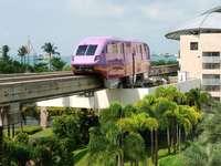 Stacja kolejowa w Sentosa (Singapur)