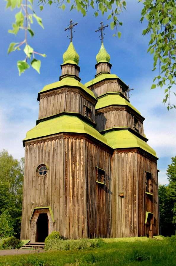 Drewniany kościół (Ukraina)