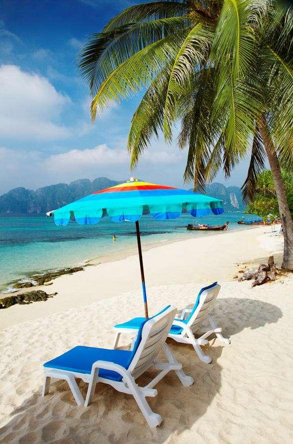 Wyspy Phi-Phi (Tajlandia) - Wyspy Phi-Phi należą do Tajlandii i znajdują się między stałym lądem a wyspą Phuket. Największa wyspą jest Ko Phi Phi Don - jest to jednocześnie jedyna zamieszkana na stałe wyspa z grupy P (7×11)