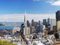 Widok na San Francisco (USA)