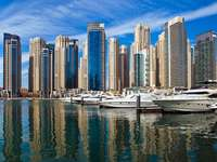 Marina w Dubaju (Zjednoczone Emiraty Arabskie)