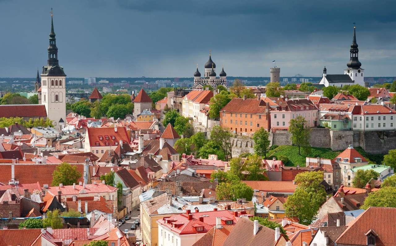 Stare Miasto w Tallinie (Estonia)