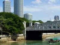 Most Andersona w Singapurze puzzle