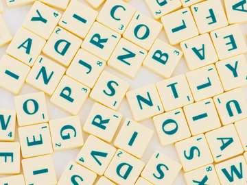 Litery do gry w Scrabble