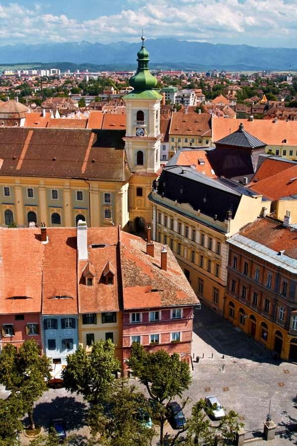 Panorama Sibiu (Rumunia)