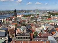 Starówka w Rydze (Łotwa)