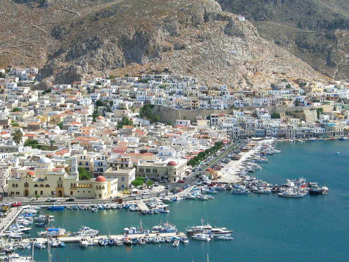 Port w Kalymnos (Grecja)