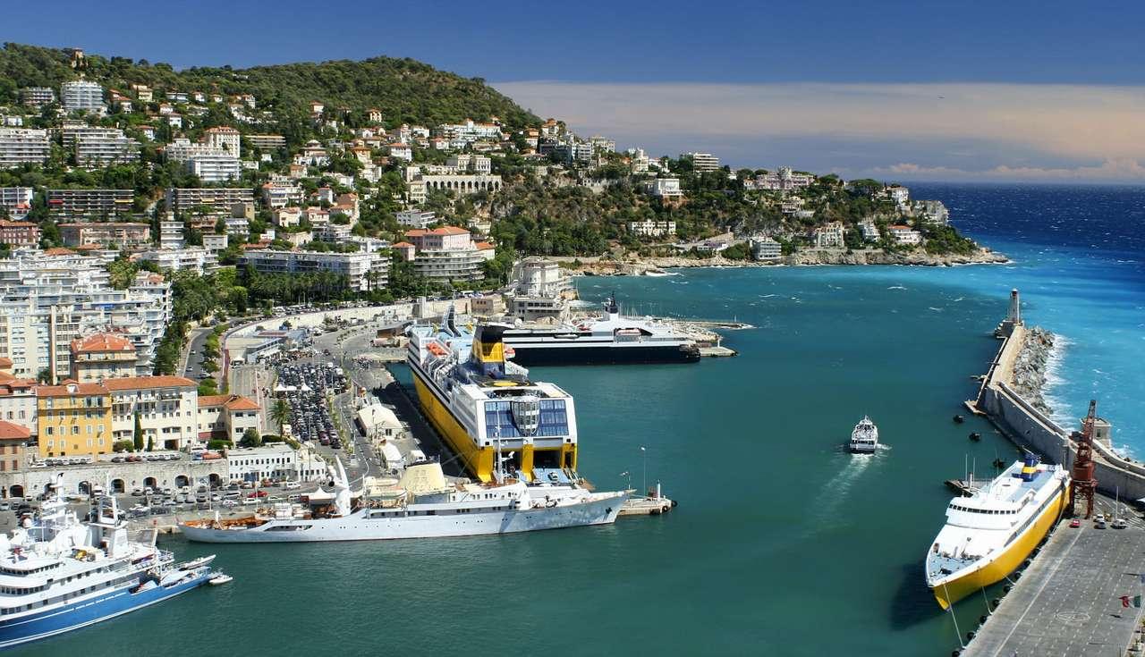 Port w Nicei (Francja)