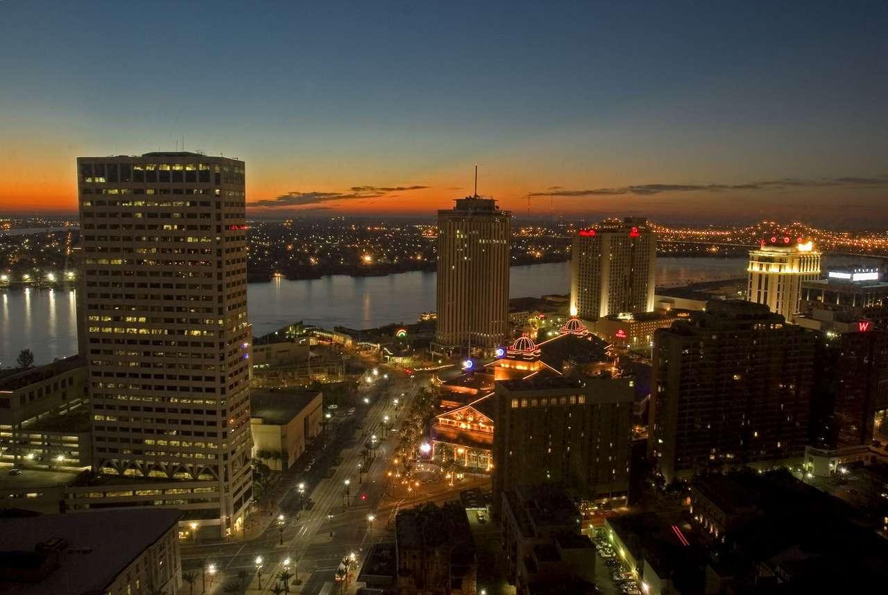 Poranek w Nowym Orleanie (USA)